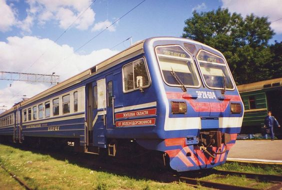 Russian Train -  took the overnight sleeper from Leningrad to Moscow..