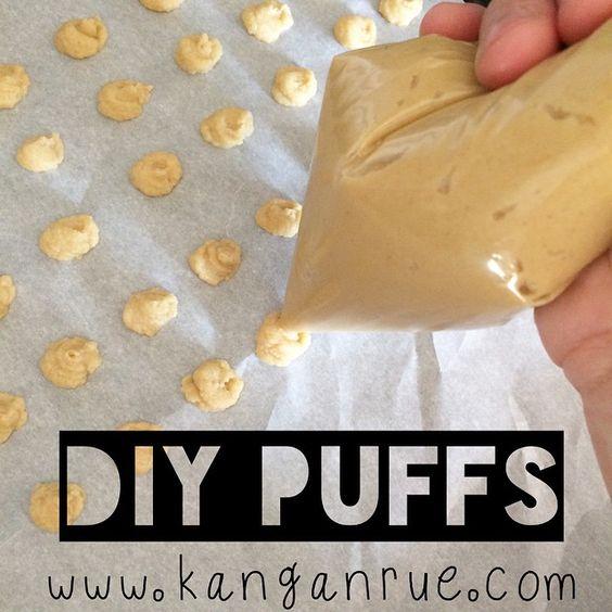 Homemade Puffs- no sugar.