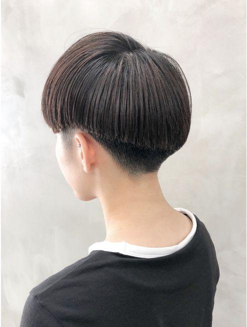 黒髪エッジ刈り上げベリーショート女子スタイル 徳竹 L037828228 サン Sun のヘアカタログ ホットペッパービューティー ベリーショート 刈り上げ ショート 女子 ショートのヘアスタイル