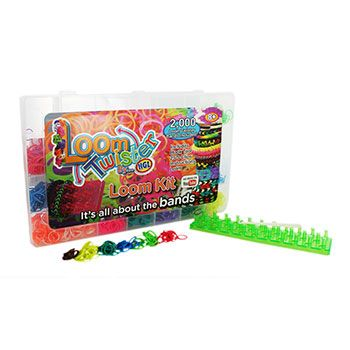Loom Twister Kit - Includes 2000 Bands