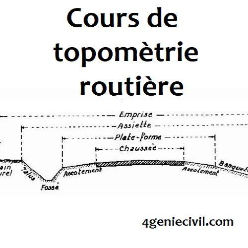 Topometrie Routierele Sommaire De Ce Cours De Nbsp Topometrie