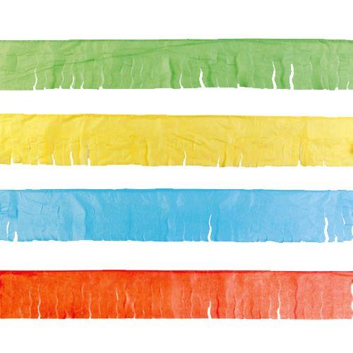 4 guirnaldas de flecos de papel para decoraciones for Decoraciones de papel