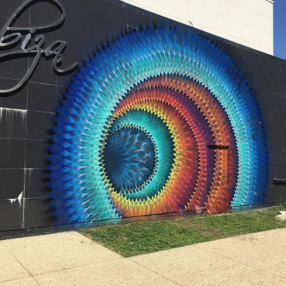Le Street Art kaléidoscopique de Hoxxoh (3)