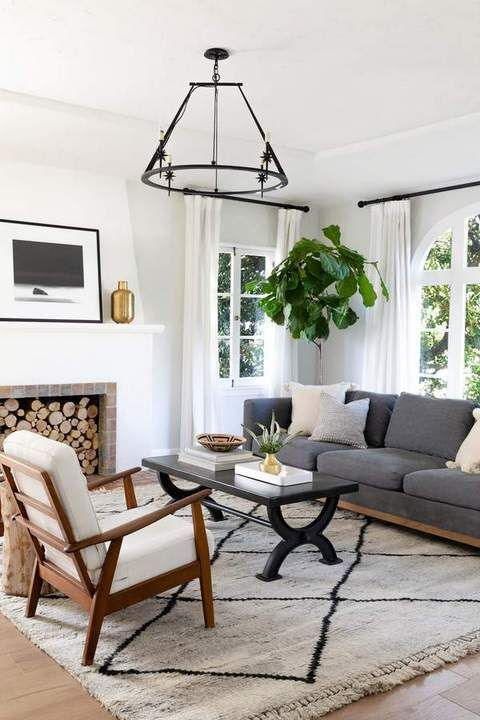 If Your Room Is Of A Challenging Dimensions Choose A Wall That Could Act As Your Focus The Living Room Is Among The Most Us Home Decor Styles Living Room Designs