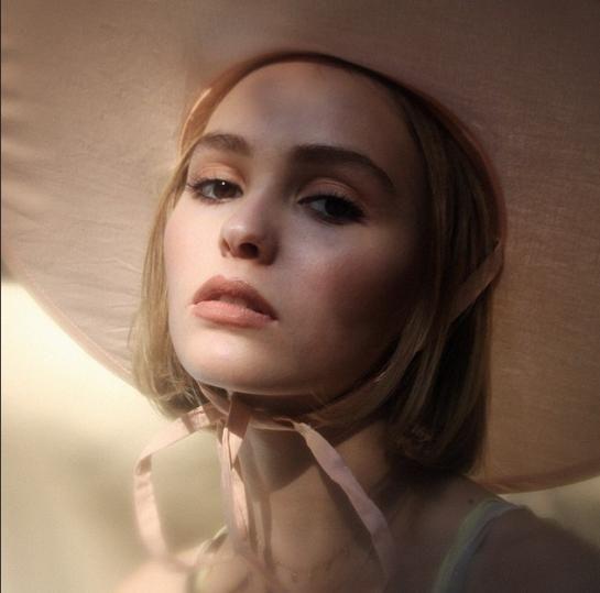 Lily-Rose Depp  Daughter of Johnny Depp and Vanessa Paradis