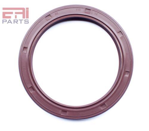 EAI VITON Metric Oil Shaft Seal 50X72X10mm Dust Grease TC Double Lip w// Spring
