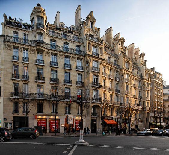 Immeuble de rapport (1909) 1-5 Avenue Mozart, 75016 Paris, Architecte : Maurice Du Bois d'Auberville,