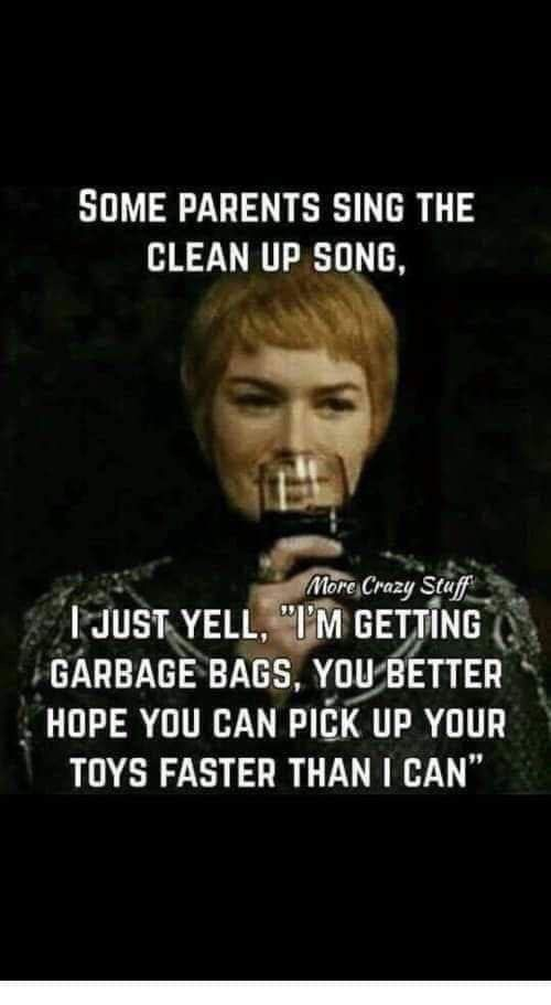 Pin By Sue Trotter On Things I Find Funny Clean Up Song Songs Singing