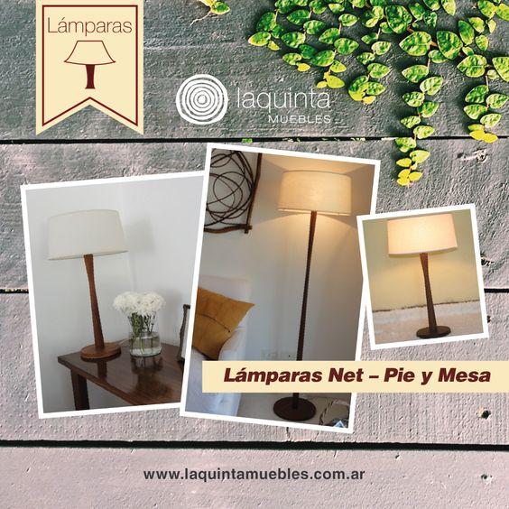 Nuestras Lámparas Net de Pie y Mesa son súper exclusivas, tienen un diseño minimalista que hará que tus ambientes se vean amplios, luminosos y altamente atractivos. ¡Menos es más!