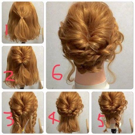 lätta håruppsättningar långt hår