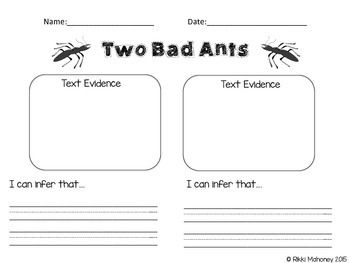This is a great activity sheet to use when teaching inferencing ...