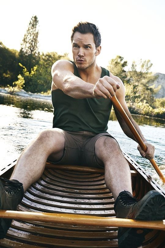 'Row Row Row Your Boat' Chris Pratt! #handsome #hot #sexy #celebrity #hunk