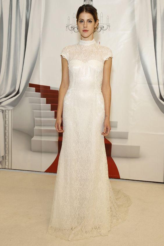 Vestido de novia de Cymbeline (FW 2014) #weddingdresses #NYBW