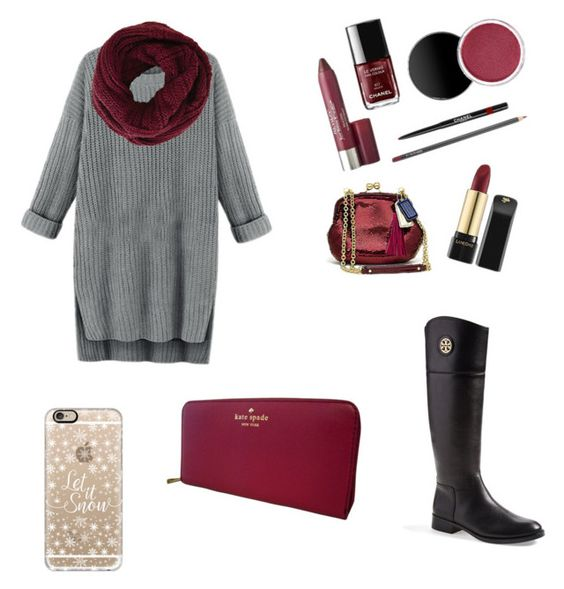 """""""Gorgeous fall outfit"""" by bigsisshopper-1 on Polyvore featuring beauty, Tory Burch, BCBGMAXAZRIA, Casetify and Kate Spade"""