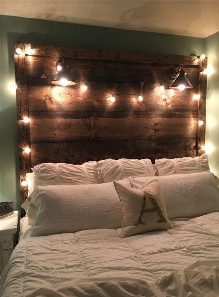 66 Ideas Diy Wood Headboard Rustic King Beds Fashionhijab