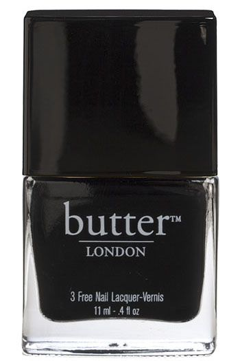 butter LONDON Union Jack Black:
