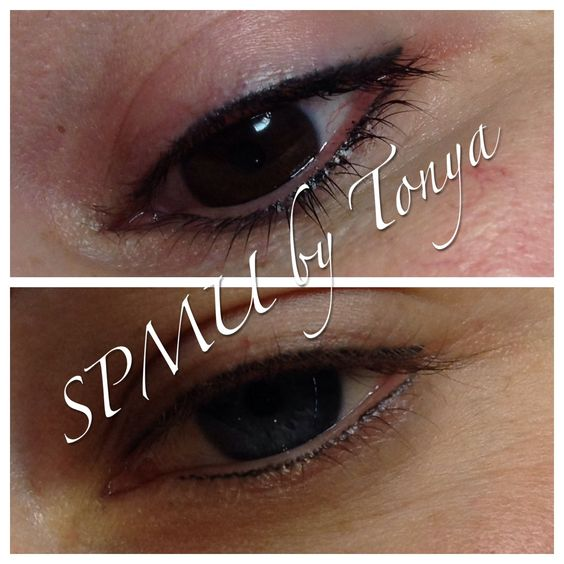 Eyeliner defines your eyes and makes them pop! http://www.permanentmakeupwithtonya.co.uk/treatments/eyeliner.php