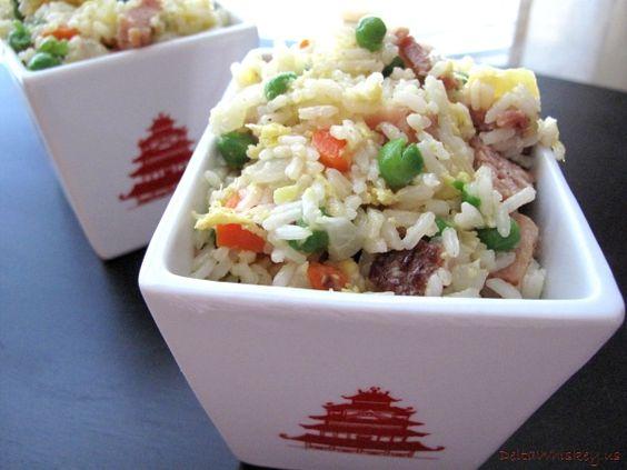 Hawaiian Fried Rice   Tasty Kitchen: A Happy Recipe Community!  minus the ham for me