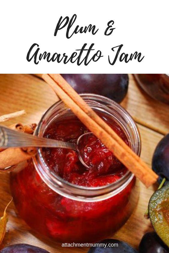 Plum And Amaretto Jam