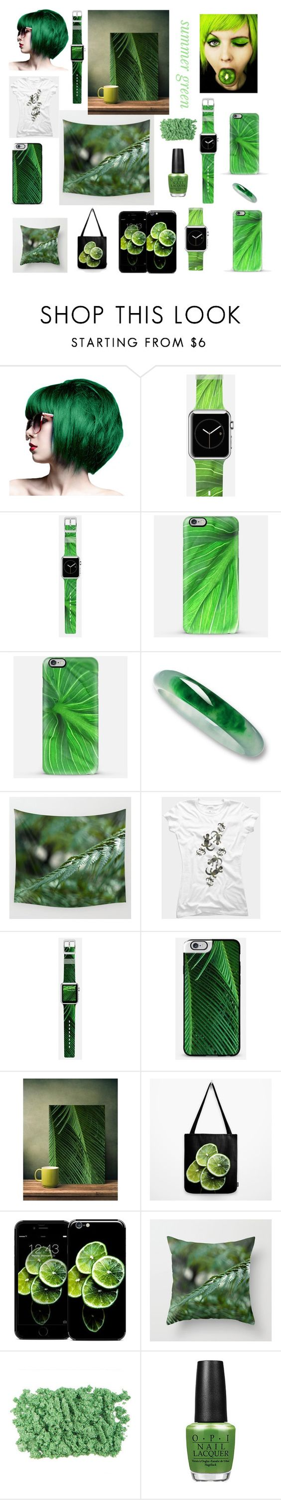 """summer green"" by vanessagf ❤ liked on Polyvore featuring Casetify, women's clothing, women, female, woman, misses and juniors"