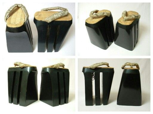 Remarkable antique japanese oiran shoes koma geta traditional footwear pinterest antiques - Japanese remarkable ...