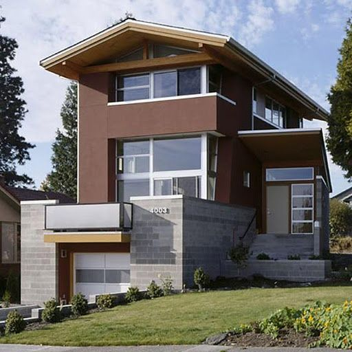 The modern house designed by Balance Associates Architects, this ...