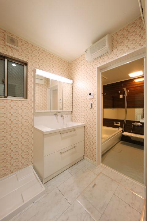 浴室換気乾燥機 洗面暖房機付き 洗面 分譲住宅 収納 ユニット