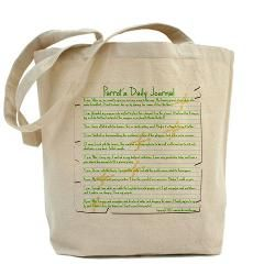 Parrots Daily Journal Tote Bag    $18.19