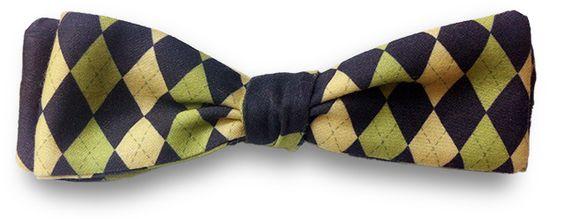 Argyle Bow Tie - shop.Lavaguy.com