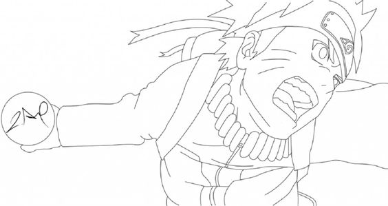 Naruto Coloring pages and Coloring