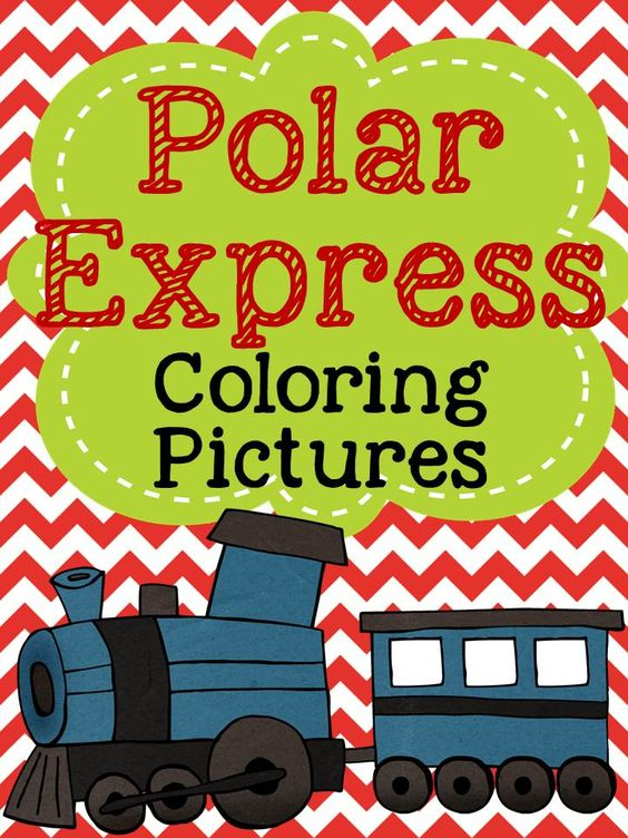 Free Coloring Pages for Polar Express KindergartenKlub