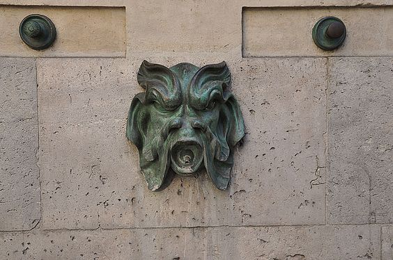 Fontaine du Vertbois Paris 3e (mascaron)