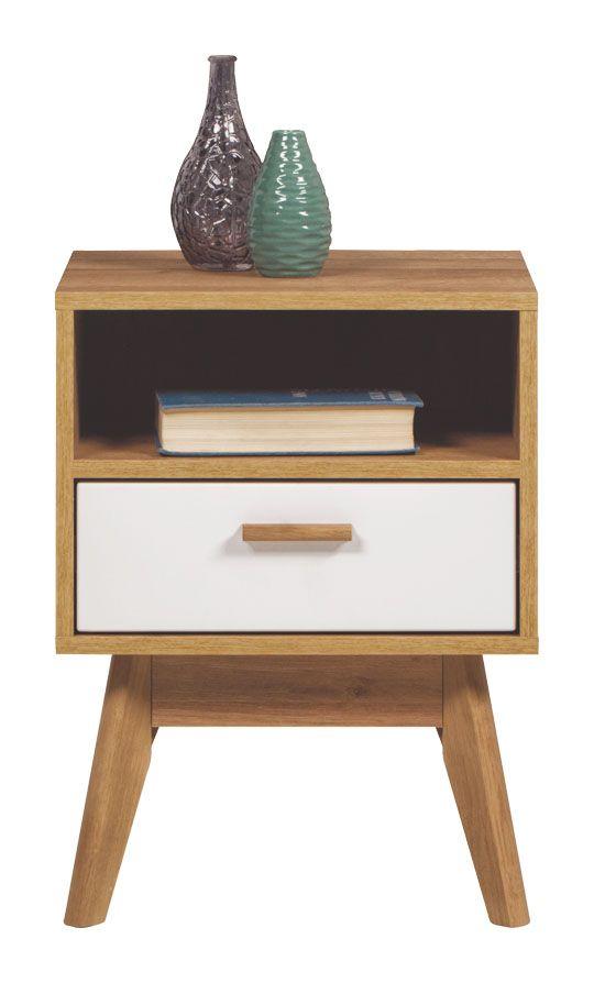 Тумбочка тумбочка Nordic белая BogFran   Мебель, Тумбочка