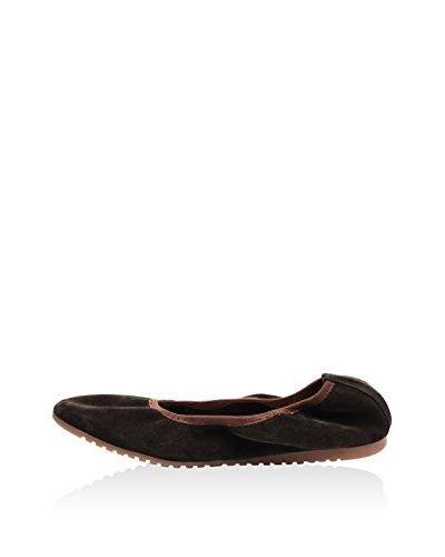Lizza Shoes Ballerina Lz-6258 (braun)