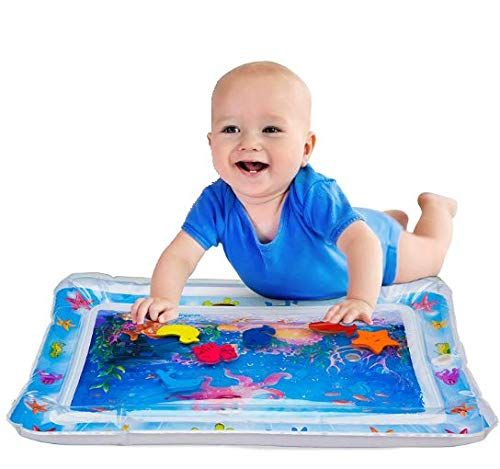 2019 Upgraded Inflatable Tummy Time Premium Water Play Mat Infants Amp Toddlers Is The Perfect Fun Time Play A Tummy Time Mat Newborn Activities Tummy Time