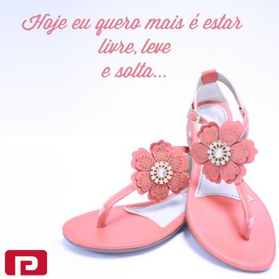 Viva o verão com liberdade!    Sandália Rasteira Zalya ( ref.:41715-450)