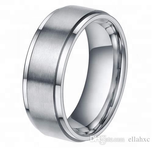 8mm Tungsten Carbide Rings Hi Tech Wedding Bands Men And Women Tungsten Ring Mens Wedding Band Jeweler From Ellahxc 5 03 Dhgate Com Tungsten Mens Rings Rings Mens Wedding Bands Womens Tungsten Rings