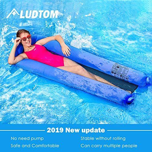 ludtom Inflatable Swimming Pool Lounger Float Hammock ...