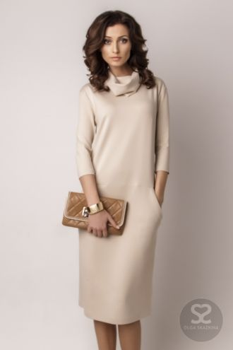 Платье деловое от дизайнера