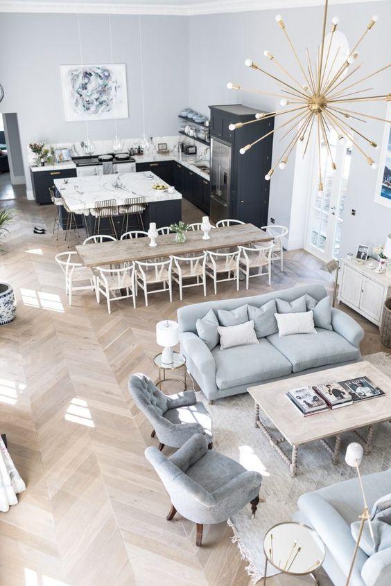Home In 2020 Living Room Kitchen Design Living Room Interior