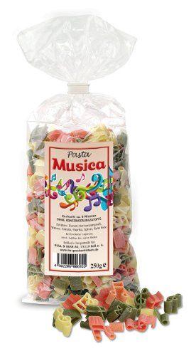 """Noten-Nudeln """"Pasta Musica"""""""