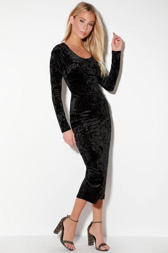 41+ Bodycon crushed velvet dress inspirations