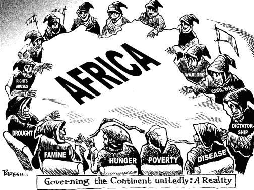 Satirical view on privatizing Africa... opinions? stats? help?