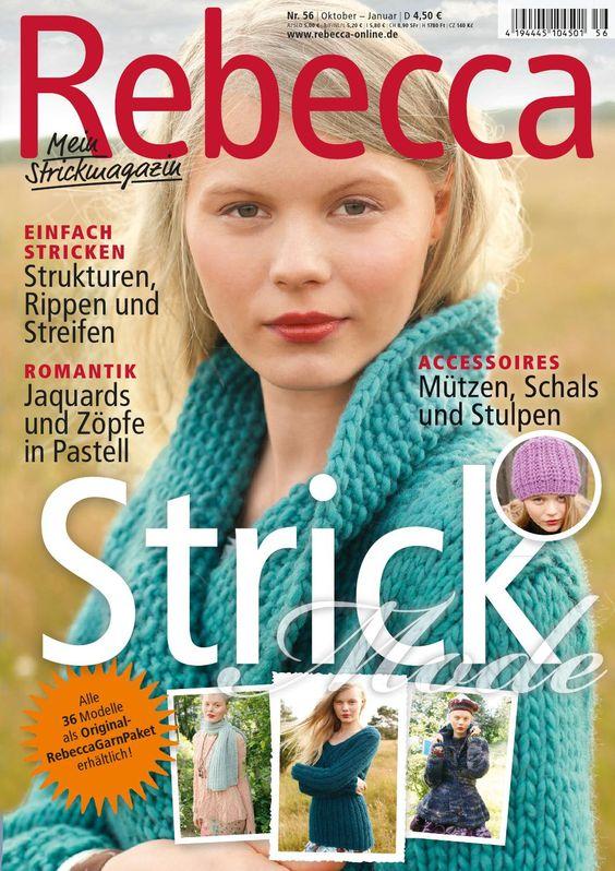 Rebecca 56  Stricken mit Rebecca - Heft 56