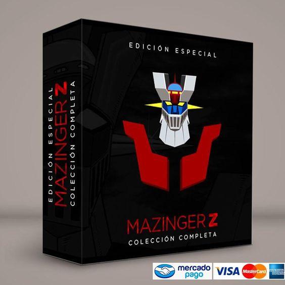 Mazinger Z · Español latino #ColeccionCompleta DVD · BluRay · Calidad garantizada. Pedidos: RetroReto.com 0414.402.7582 Presentación #BoxSet exclusiva de RetroReto.