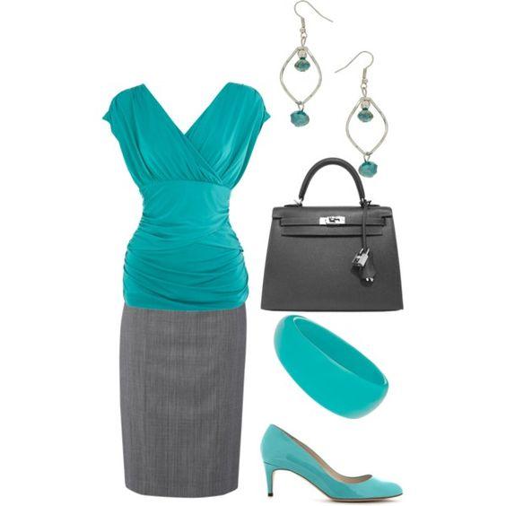 Aqua - work outfit