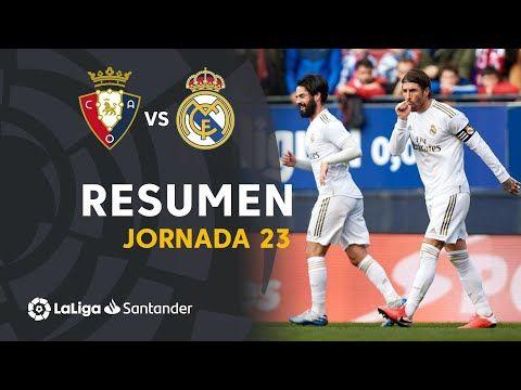 اوساسونا رئال مادرید خلاصه بازی پیروزی کهکشانی ها در ال سادار پامپلونا ویدائو In 2020 Real Madrid Ca Osasuna Sergio Ramos