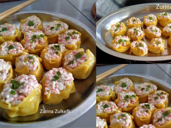 Resepi Dimsum Halal Best Berintikan Ketam Mudah Dibuat Tapi Sedap Cooking Recipes Cooking Halal
