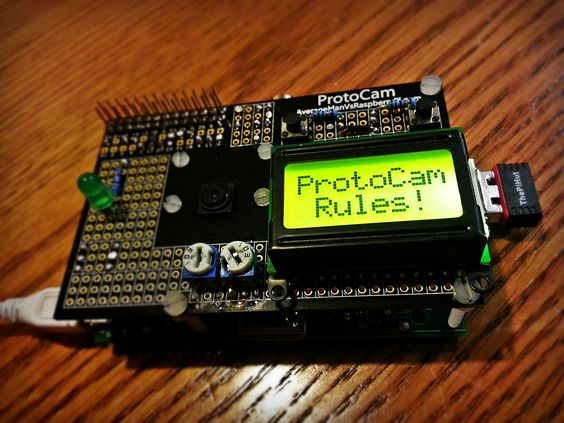 how to use a calculator lcd with a raspberry pi