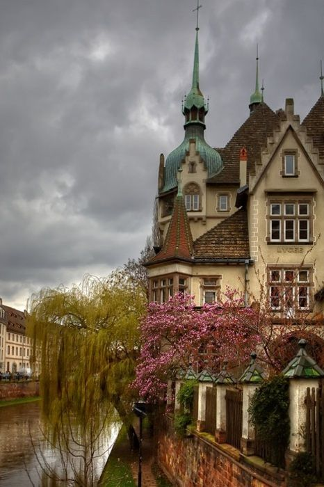 So peaceful <3 Strasbourg <3 France <3 makes me want a hot cup of tea <3
